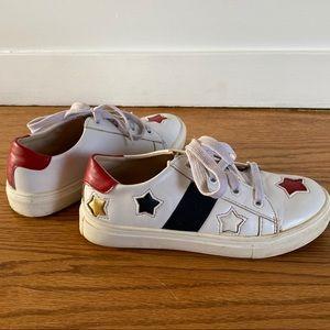 Hoo - kids Star lace sneaker